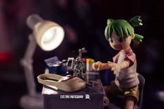 Yotsuba3 (ArchLancer) Tags: yotsuba revoltech animecharacter figure toy nikond7000 workstation cutetoysphotography