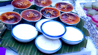 Patchmon's Thai Dessert | Kha-Nhom Thuay (Pandanus, Palm Sugar, Coconut Cream)