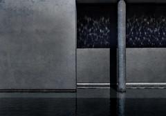 at the frye (dotintime) Tags: frye artmuseum water pool column light dark reflect concrete ceramic tile dotintime meganlane