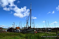 Skippool Creek, River Wyre, Lancashire (@CyprusPictures) Tags: skippoolcreek moorings boats yachts mudflats riverwyre thulbornchapmanphotography fyldecoastphotography fyldecoastmusings lancashire thorntoncleveleys photooftheday masts