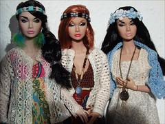 Hippie Girls 02 (jasminalexandra) Tags: integrity poppy parker bonjour springtime boutique boho hippie fashion