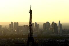 dalla Tour di Montparnasse (elisabetta2005) Tags: toureiffel tramonto dfense parigi paris montparnasse