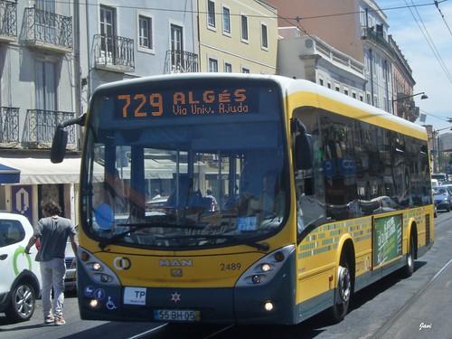 Marcopolo Viale Man 18.310 2489 de Carris Lisboa