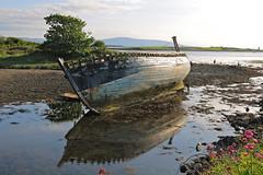 Rosses Point, Ireland (adamsgc1) Tags: rossespoint sligo boat water tide reflection ireland strandhill