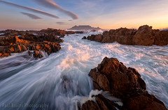 Just Another Rock (Panorama Paul) Tags: paulbruinsphotography wwwpaulbruinscoza southafrica westerncape capetown tablemountain blaauwbergbeach sunset rocks longexposure nikond800 nikkorlenses nikfilters wow