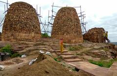 Tipu Sultan's grainaries: Badami fort (Ayush.M) Tags: india temple badami karnataka travel