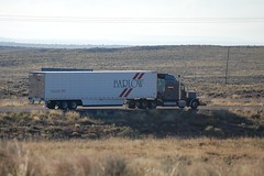 Barlow Truck Lines (ashman AZ) Tags: arizona usa truck transport semi carrier freight trucking peterbilt 18wheeler tractortrailer bigrig interstate40 peterbilttruck barlowtrucklines