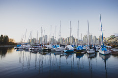 Vancouver '14 - 052 (seango) Tags: ocean travel sunset canada travelling water vancouver lens landscape boats photography 50mm prime travels nikon bc pacific dusk britishcolumbia f14 ships sigma wideangle westcoast vancity d600 teamnikon 1424mm seango