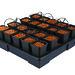 AW420V2 - 20 pot square XXL - 6L © Nutriculture