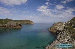 Playa Poo de Llanes 4 (Pedro Fiallegas) Tags: sky espaa beach water clouds spain agua nikon asturias playa cielo nubes poo llanes marcantabrico poodellanes