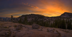 Sunset Glow Over Olmsted Point (WJMcIntosh) Tags: sunset yosemite yosemitenationalpark tiogapass olmstedpoint