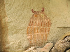 The Owl (Udink) Tags: utah rockart pictograph bookcliffs grandcounty