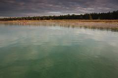 South Manitou Island - Bay (cedarkayak) Tags: water evening bay lakemichigan clear boating sleepingbeardunes southmanitouisland moored