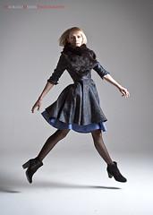 Jump (maurime58) Tags: studio flash moda persone ritratto interni modella