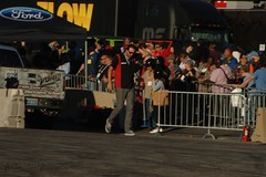 """SEMA 2014: Ford Out Front (Michael """"Pumpkyn"""" Nielsen) Tags: show life road park las vegas red jason ford america truck factory five nevada go fast smith center off bull nv miller domestic raptor experience convention trophy sema mustang legend motorsports drifting svt mmp vore dragg"""