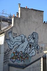 Cheminées et pointes de toit, Zoo project, Paris 20e (Jeanne Menjoulet) Tags: cheminées pointes toit zooproj paris zooproject bilalberreni