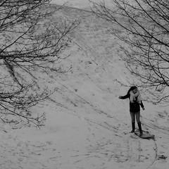 Dancing Queen (brandsvig) Tags: christmas winter bw snow skne vinter december sweden sverige jul malm sn 2014 dancingqueen lx7 lumixlx7