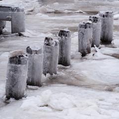 Frozen (Philipp Hullmann) Tags: eis hudson manhattan newyork riversidepark upperwestside winter ice
