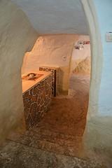 Star Wars hotel, Tunisia (JohntheFinn) Tags: film sahara set movie starwars desert tunisia berber arab maghreb troglodyte tunisian tatooine matmata hotelsididriss tatouine tunisialainen tunisilainen