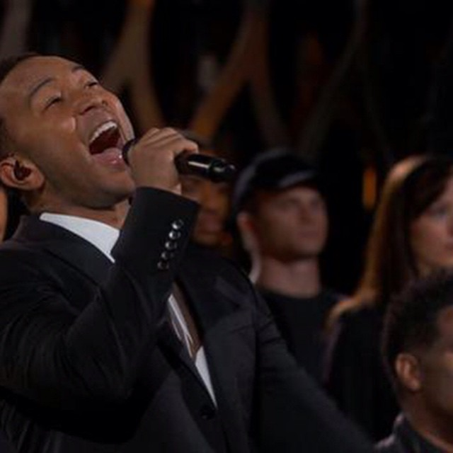 #Glory, I cried #Glory!!!! #SELMA @johnlegend #common