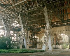(brokenview) Tags: abandoned film industrial kodak decay abandonment decayed urbanexploring urbex tiltshift portra160 explored brokenviewnet