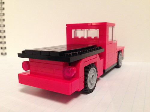 Classic Truck (Back) by mister_hashtag, on Flickr