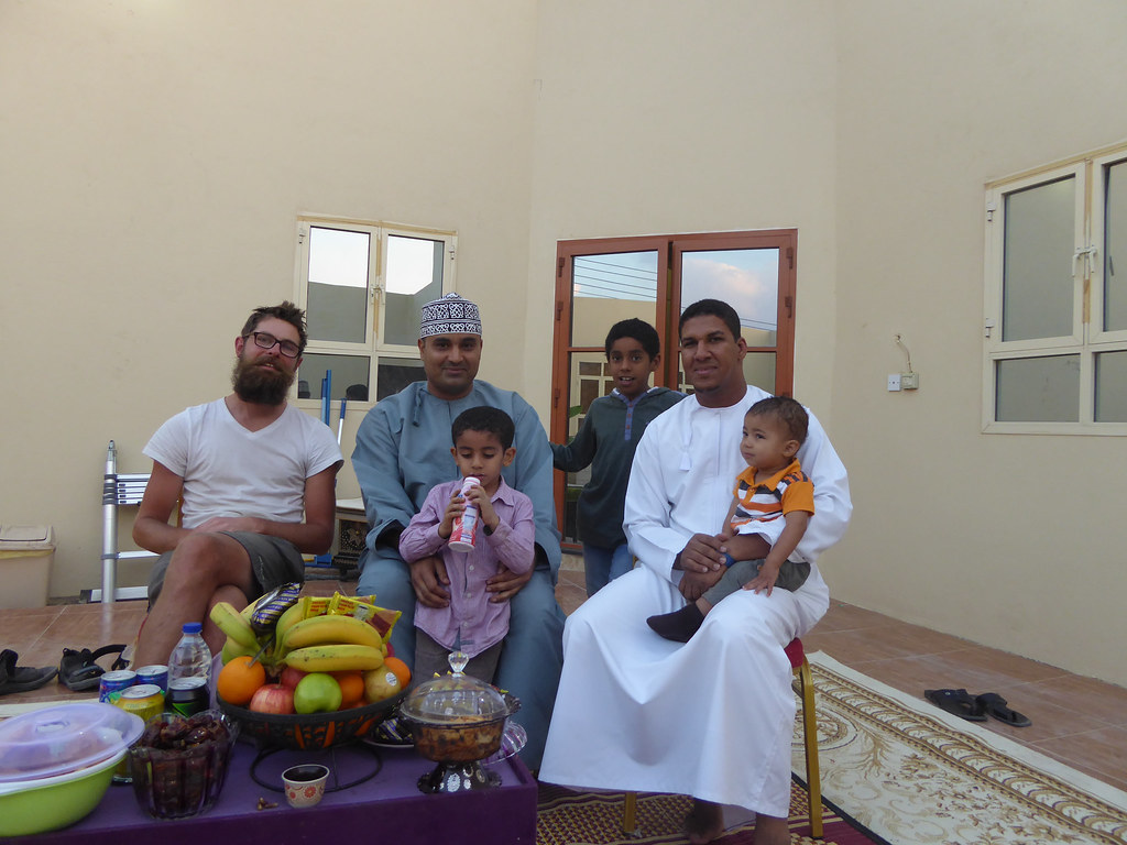 In a typical Omani family home