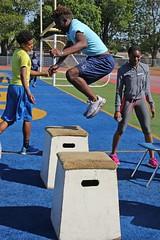 D119933A (RobHelfman) Tags: sports losangeles track highschool practice crenshaw matthewmalone
