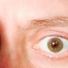 """Eye selfie • <a style=""""font-size:0.8em;"""" href=""""http://www.flickr.com/photos/40432608@N08/16159679318/"""" target=""""_blank"""">View on Flickr</a>"""