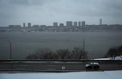 IMG_1873 (kz1000ps) Tags: nyc newyorkcity winter white snow tower skyscraper grey newjersey manhattan january hudsonriver snowfall blizzard bigapple fortlee themodern palisades washingtonheights riversidedrive winterstormjuno