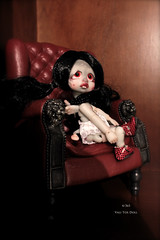 day 4/ 365 / I have forget yesterday/oups/sorry! (Vali.Tox.Doll) Tags: mouse grey flying doll skin little circus kitty mini tiny bjd kane vali nefer