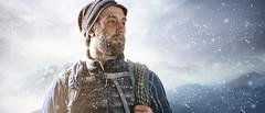 Bergsteiger (Daniel Bunn) Tags: schnee winter trekking wandern sturm bergsteigen schneetour