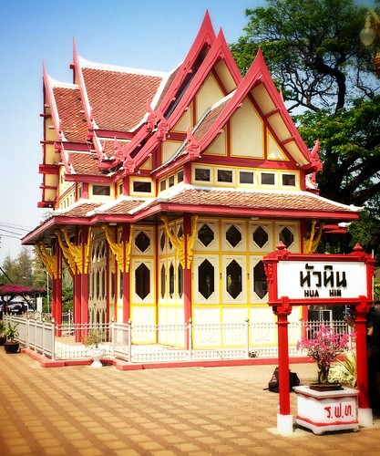 Royal Waiting room, Hua Hin, Thailand