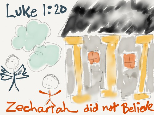 Zechariah Did Not Believe (initially) by Wesley Fryer, on Flickr