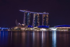 Another classical picture of Singapore (karinavera) Tags: travel night marina photography singapore nikond5300