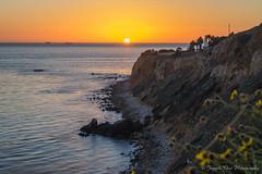 Vincent_6944 (Joseph Choi Photography) Tags: sunset seascape landscape beaches southbay ranchopalosverdes pointvincent californiashore californiashoes