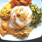 "Chicken curry <a style=""margin-left:10px; font-size:0.8em;"" href=""http://www.flickr.com/photos/128405027@N08/16633239496/"" target=""_blank"">@flickr</a>"