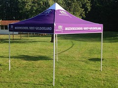 Quick Folding Tent  met een full color print