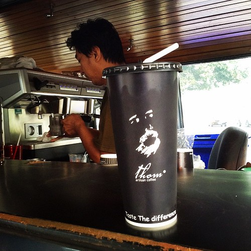 #coffee #coffeeshop #coffeelover #coffeecorner #coffeebar #coffeehouse #coffeesesh #PositiveEnergy #lovecoffee #nimman #cm #cnx #chiangmai #northern #th #thailand #thom #thomcoffee