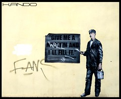 Give me a wall (KANDO ITALIA) Tags: street art wall bologna