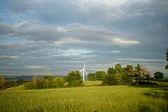 Blot or Beauty? (johnsti777) Tags: wind sony dxo turbine windturbine controversial greenenergy a7ii niftyfifty alvington westgloucestershire sigmamc11 alvingtoncourtfarm