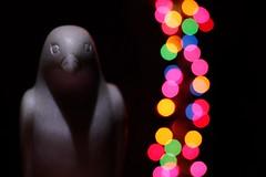 Stone Bird (RStonejr) Tags: carvedbird colours coloredlights stonebird rossstone