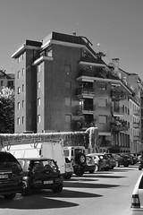 Via Accademia_Milano (riccardo1.ruggeri) Tags: urban bw italy white black milan architecture landscape milano modernism urbanism architettura miland