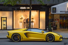 Yellow Mood (Beyond Speed) Tags: lamborghini aventador roadster v12 supercar supercars automotive automobili nikon london knightsbridge yellow