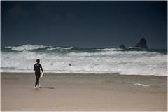 Storm Surf (JayTeaUK) Tags: cornwall surf surfer surfboard perranporth coast shoreline waves