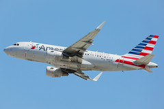 American Airlines Airbus A319-115 N9019F (Mark Harris photography) Tags: spotting aircraft plane aviation airbus lax la canon california