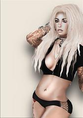 juli6 ([] Nieor Svir []) Tags: woman meshbodylara style lotd poetic pekka maitreya fashion mandala hair blogging sl secondlife kz logo meshhead alterego dstyle vanityhair
