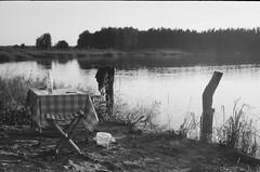 001566650017 (putjka) Tags: kiev4 analog film filmphotography kodak tmax100 bw retro ligo picnic lake saurieshi