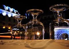 a night at the opera (*F~) Tags: lisboa portugal table glasses theater teatro teatronacionaldescarlos light night perception perspective mozart time memory lookingback