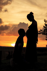 this is love (skwrose) Tags: pregnancy woman momtobe love parents expecting prenatal anna